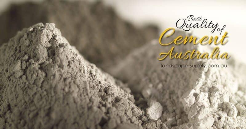 cement australia, landscape gardeners