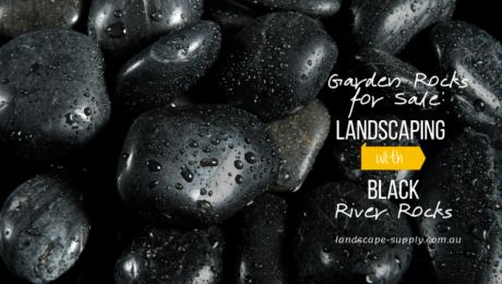 group of black stones